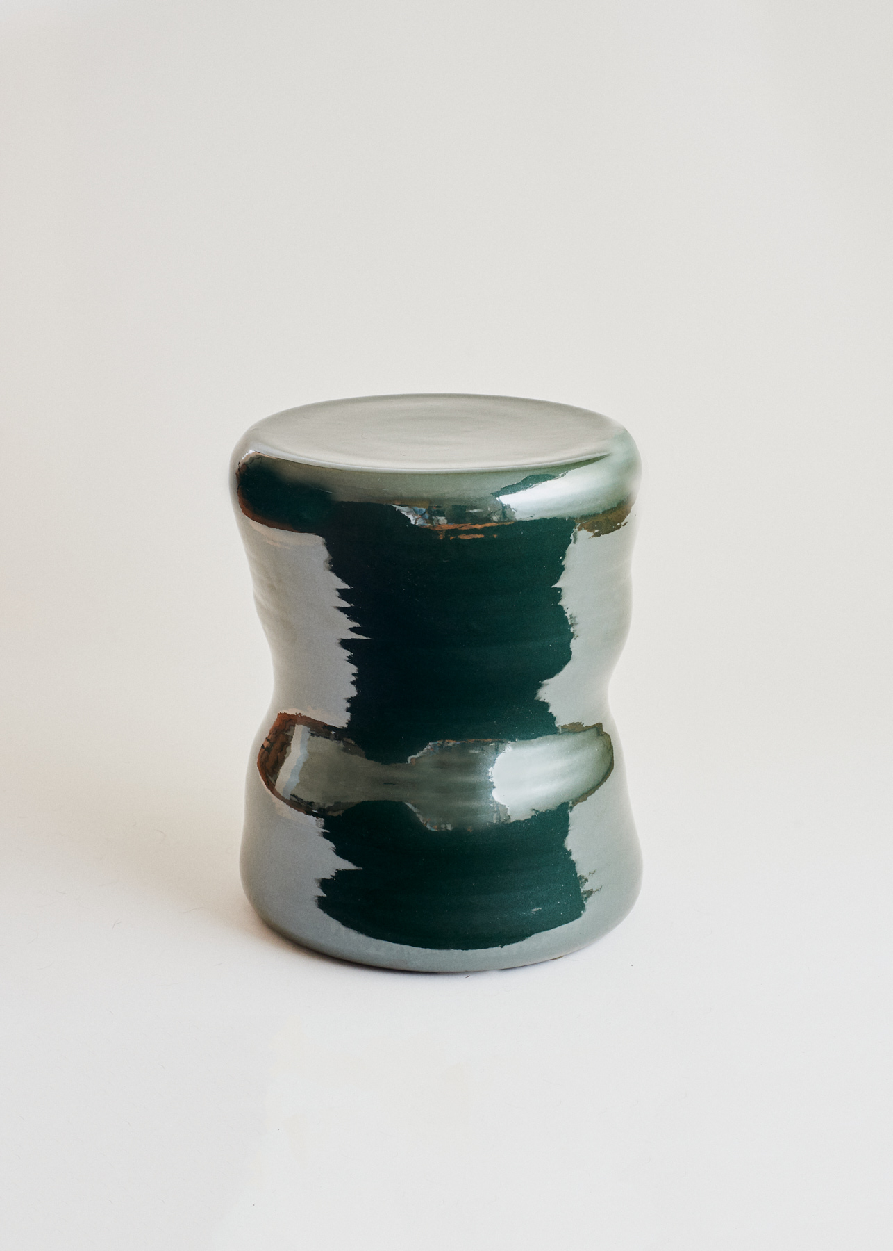 Organic Pawn Stool Green