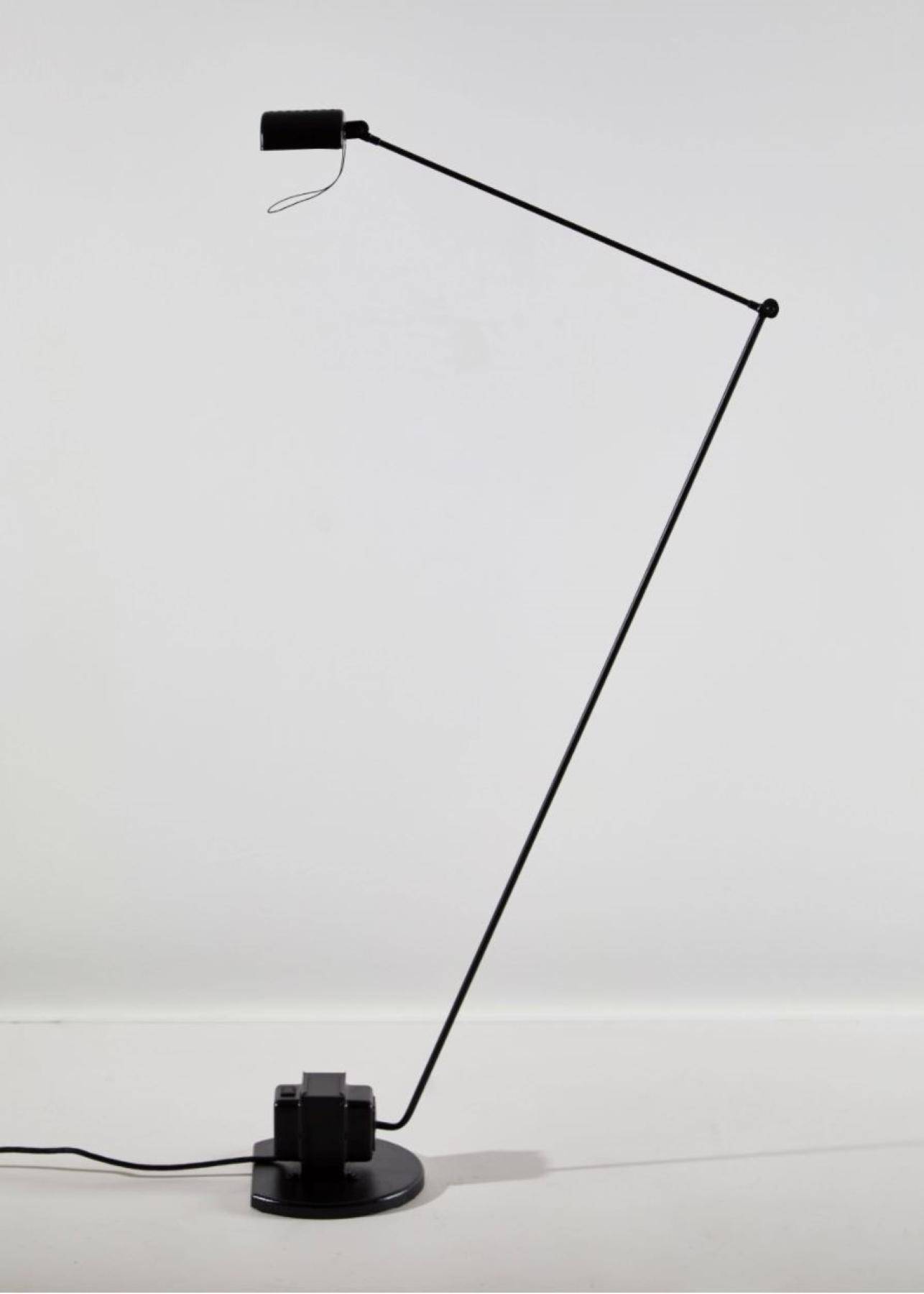 Black Daphine Terra Floor Lamp