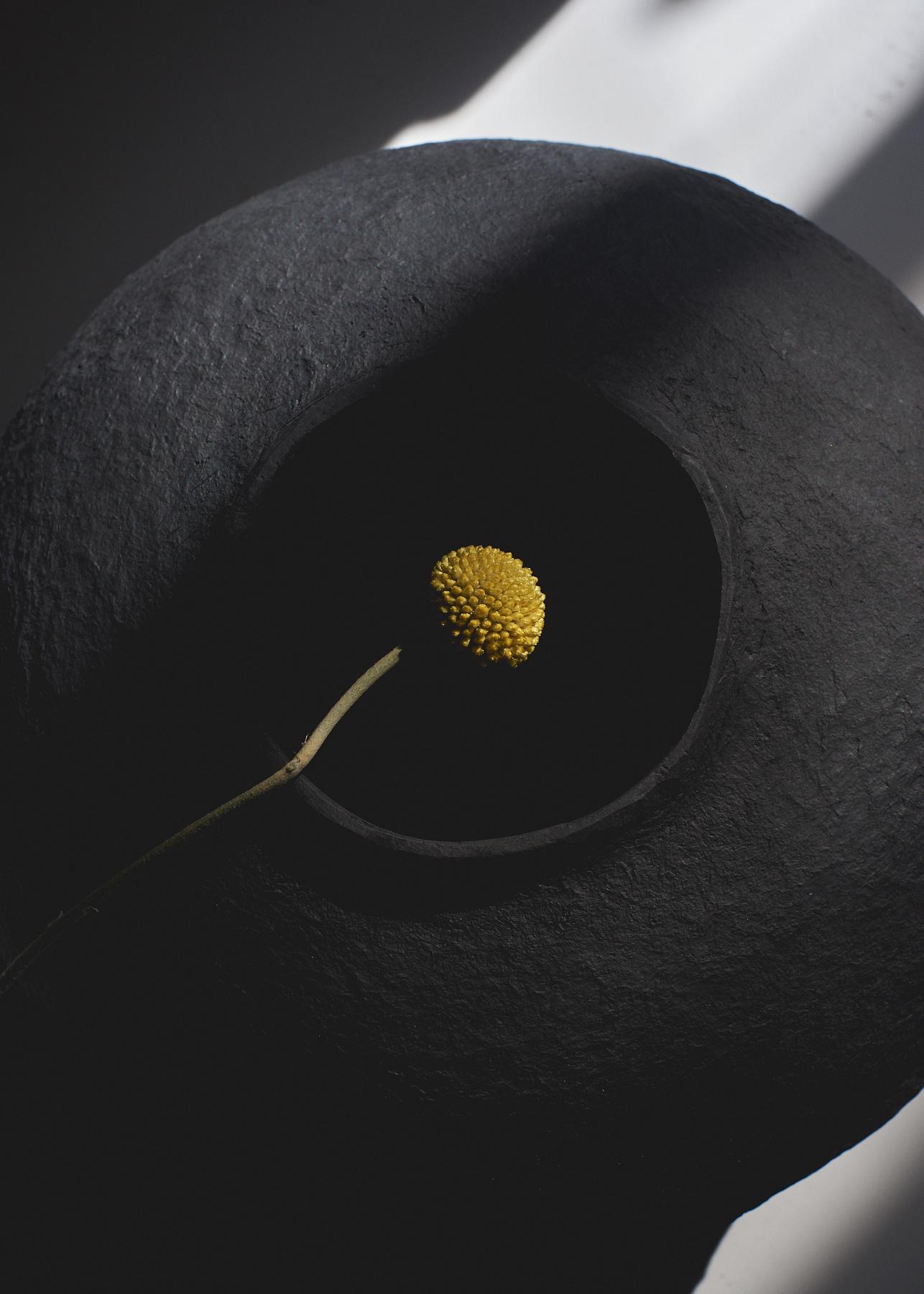 Paperpulp Vase Low