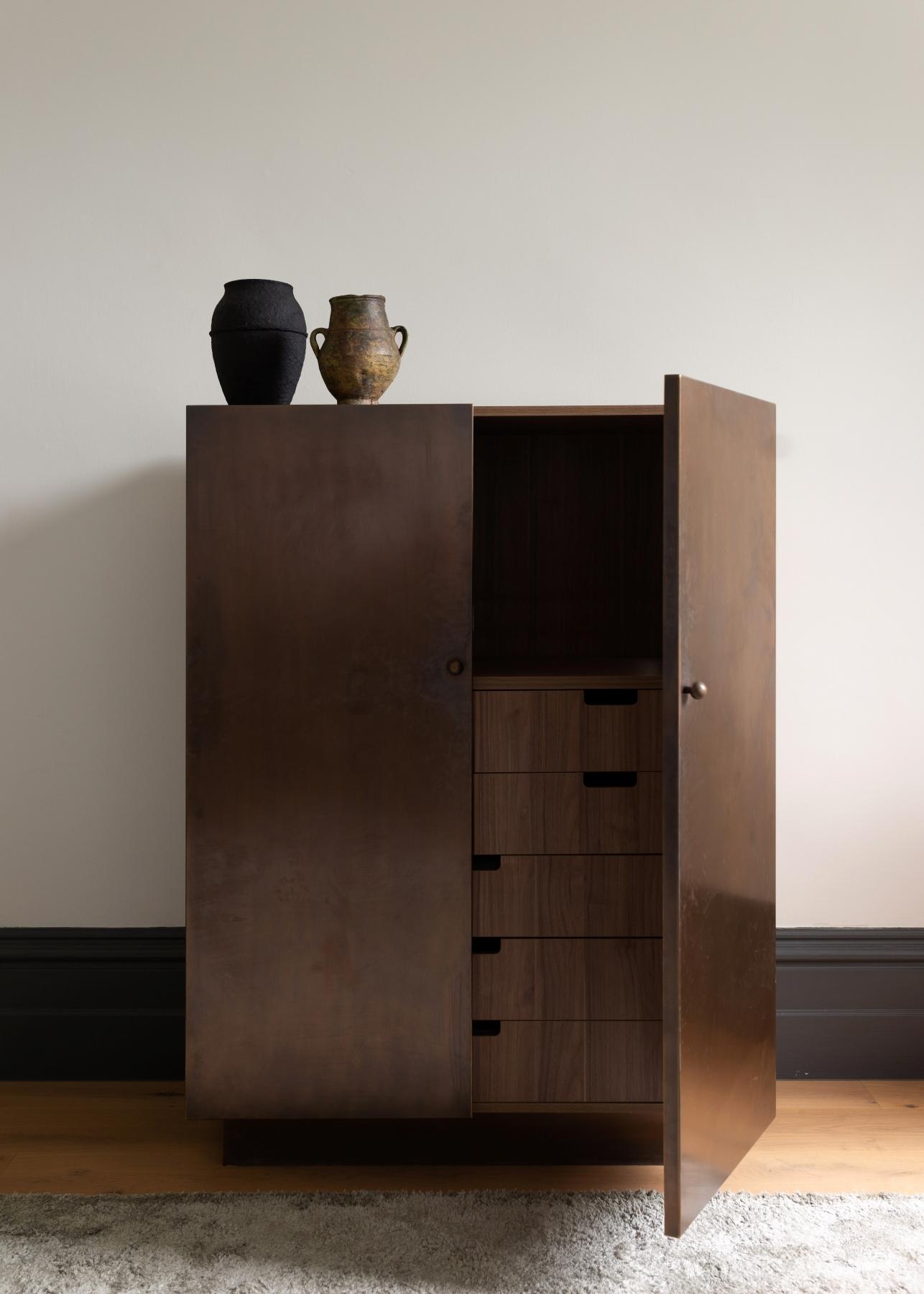 Bespoke Brass Cabinet